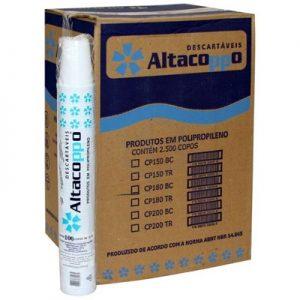 Copo 180 ml c/ 2500 Altacoppo branco