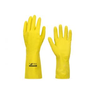 luva borracha amarela