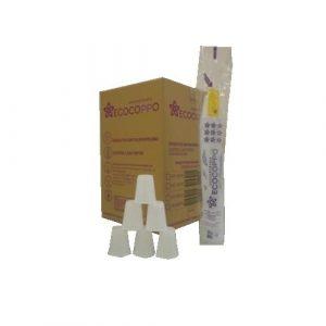 copo 180 ml c/ 2500 ecocoppo branco