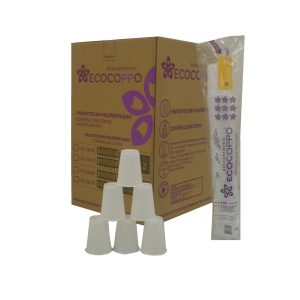 copo 200 ml c/ 2500 ecocoppo branco