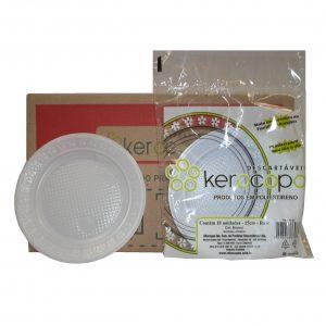 prato 15 cm raso c/ 500 kerocopo branco