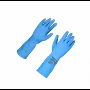 Luva Borracha Azul Multiuso