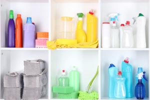 controle de produtos de limpeza